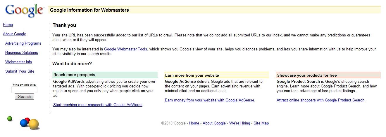 Tips: Cara Mendaftarkan Situs Web dan Blog ke Situs Mesin Pencari